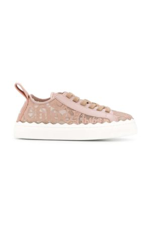 Baskets Lauren Chloé rose