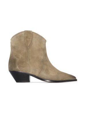 Boots Dewina Isabel Marant taupe