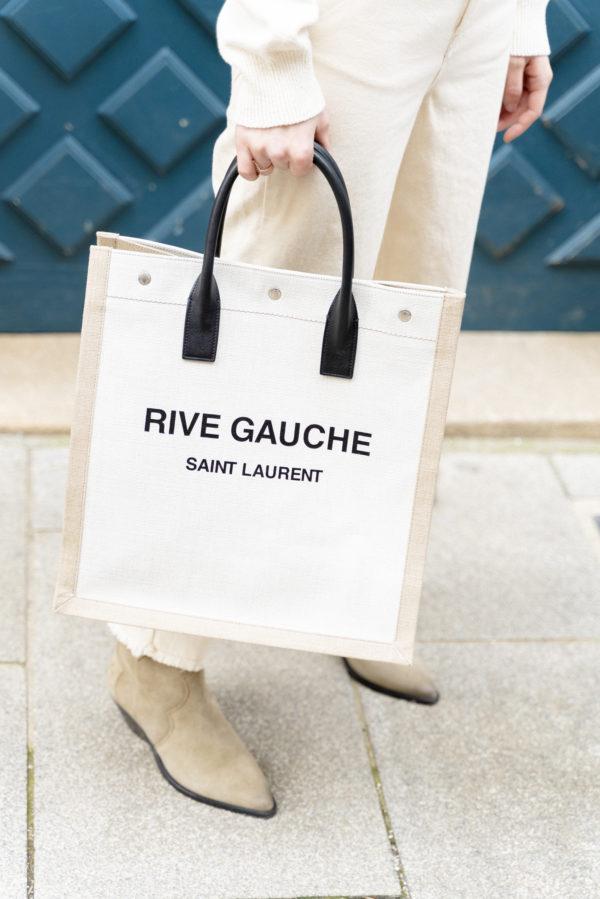 Cabas Saint Laurent Rive Gauche