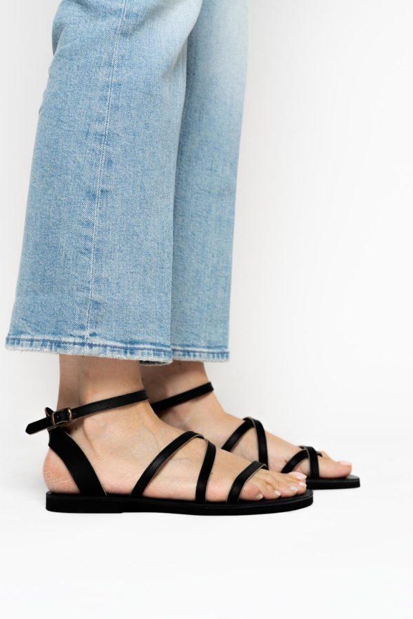 Sandales Dalia Massalia noires