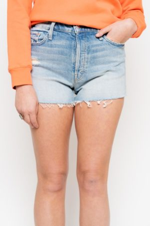 Short en jean Tomcat Mother Denim