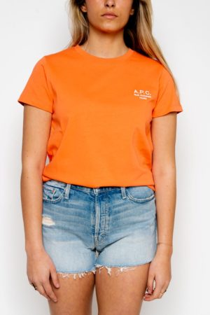 Tshirt Denise A.P.C. orange