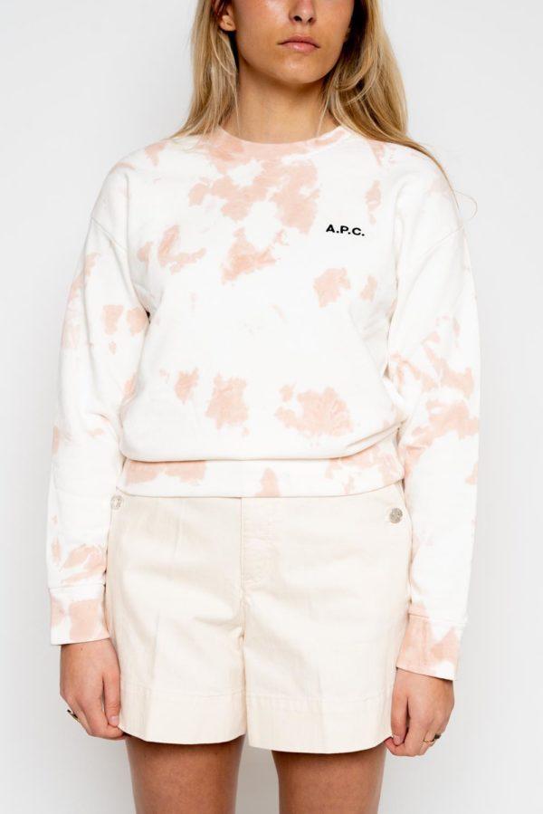Sweat-shirt Tina A.P.C. tye & die