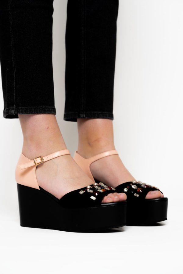 Sandales compensées Marni